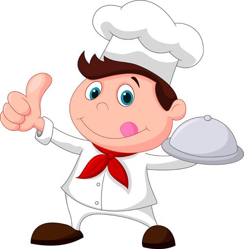 Junior Chef Mascot