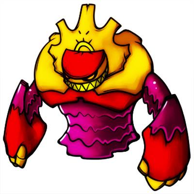 Elemental Golem Mascot