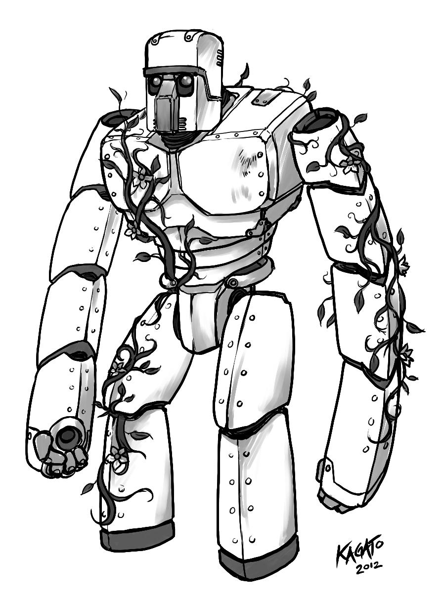 Metal Golem Mascot