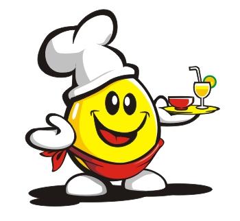 Chef Egg Mascot