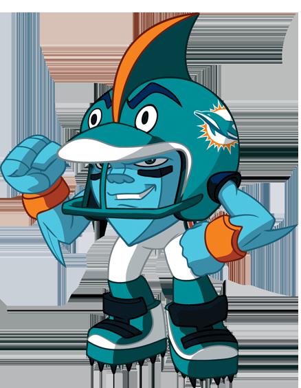 NFL Shark Mascot