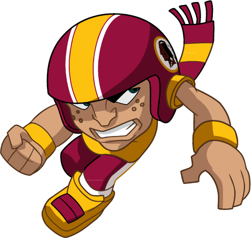 NFL Warrior Mascot