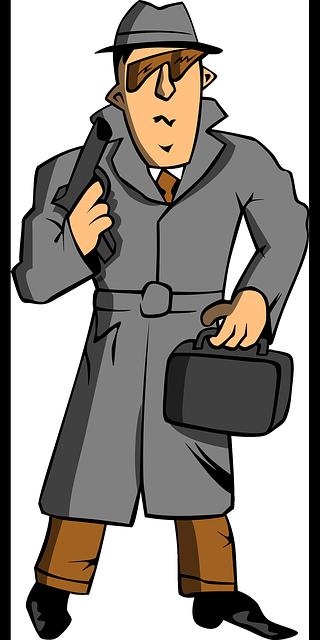 Secret Agent Mascot