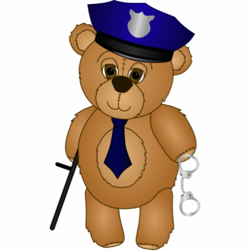 Police Bear Mascot