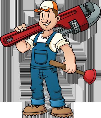 Mr. Plumber Mascot