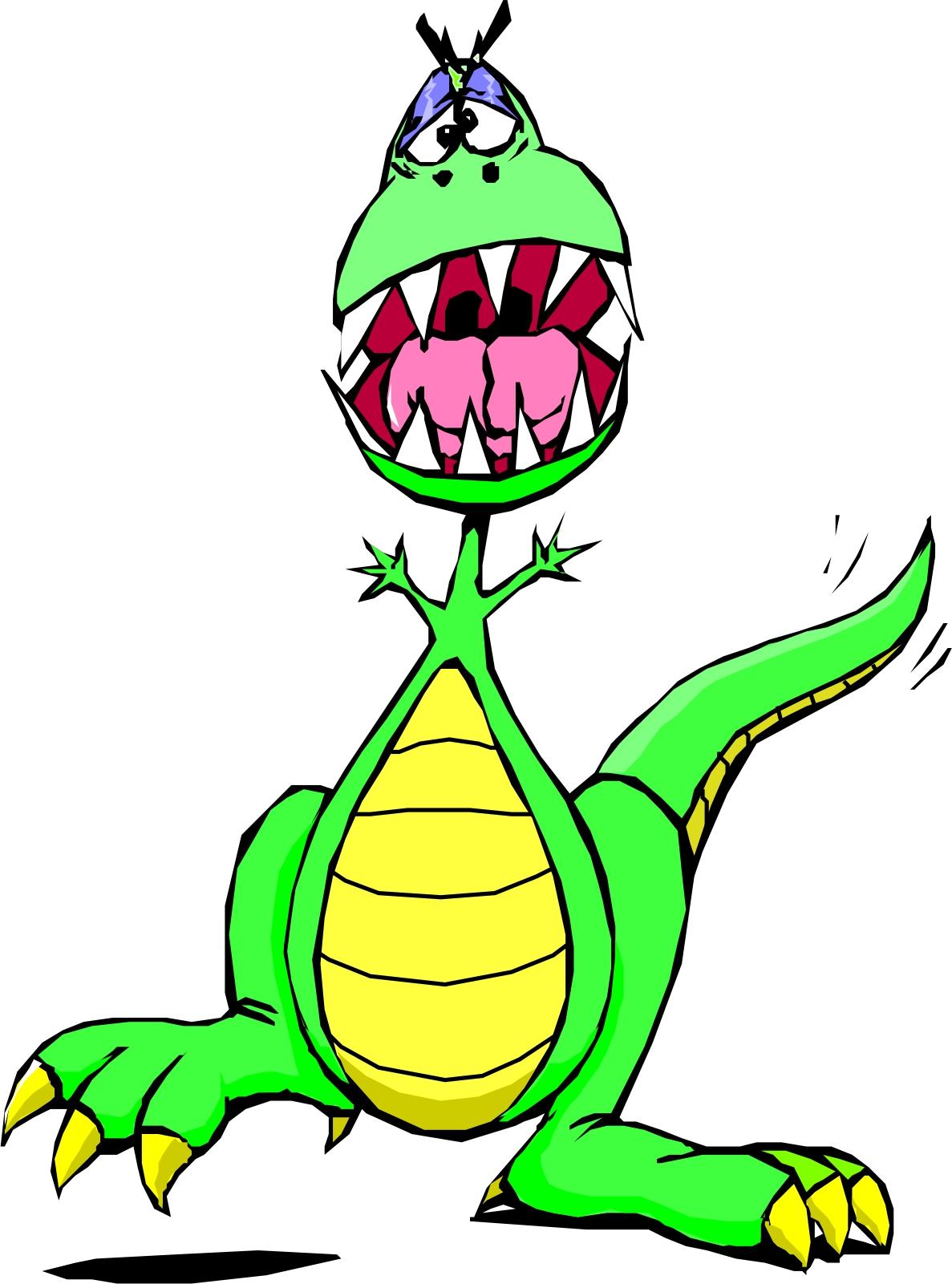 Wacky Dragon Mascot
