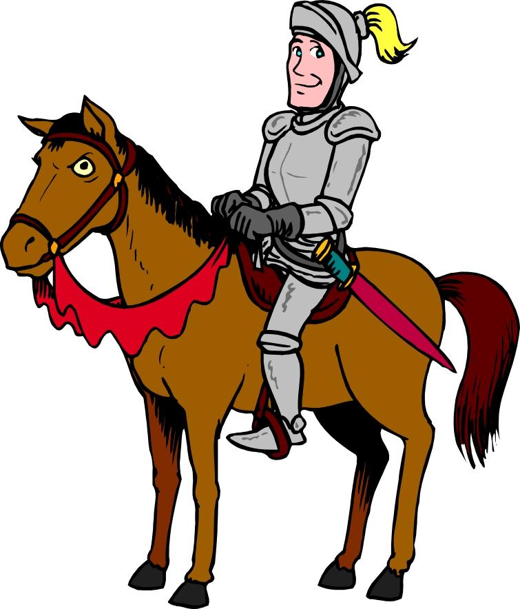 Cavalry Knight Mascot