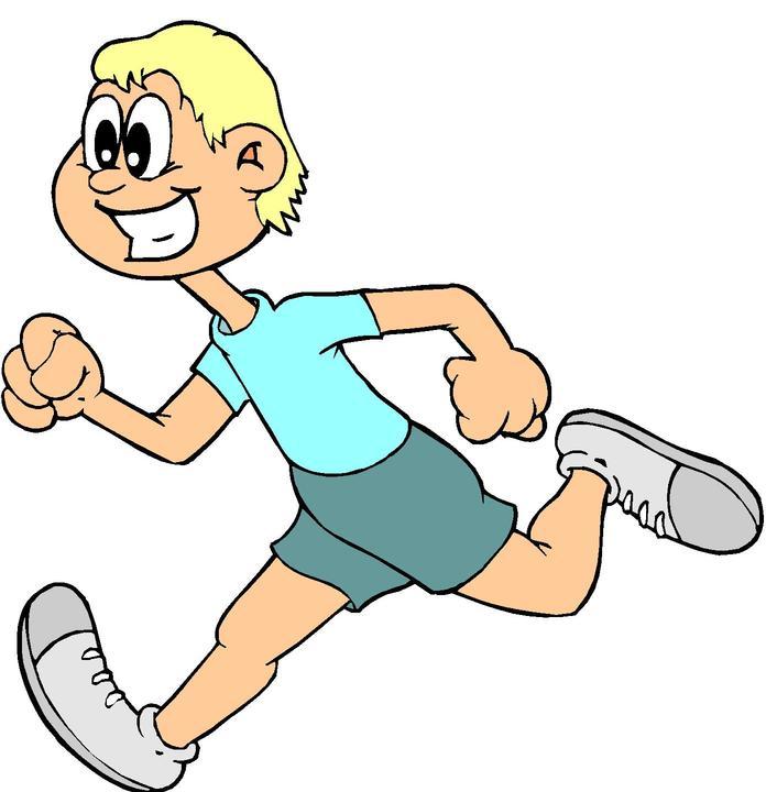 Running Kid Mascot