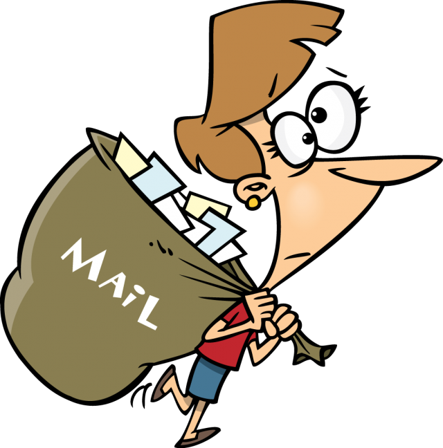 Mail Boy Mascot