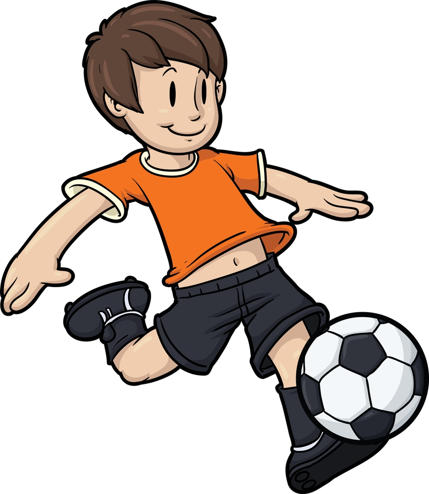 Striker Kid Mascot
