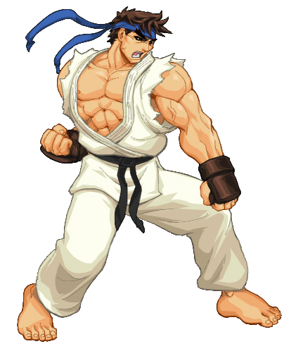 Karate Fighter Mascot