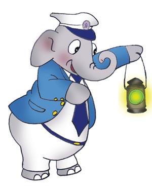 Elephant Guard Mascot