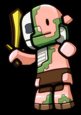 Skeleton Zombie Mascot