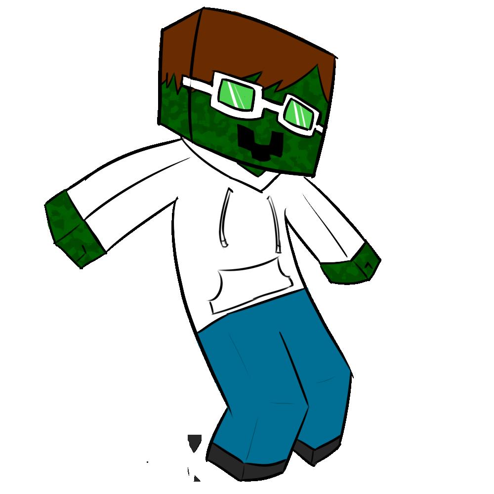 Cool Zombie Mascot