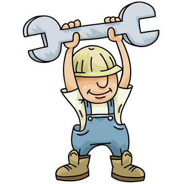 Construction Worker Mascot
