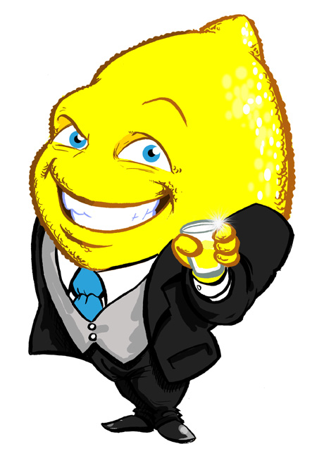 Mr. Lemon Bar Mascot