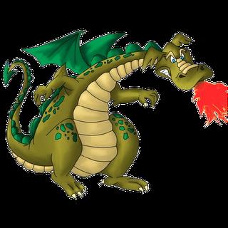 Angry Ancient Dragon Mascot