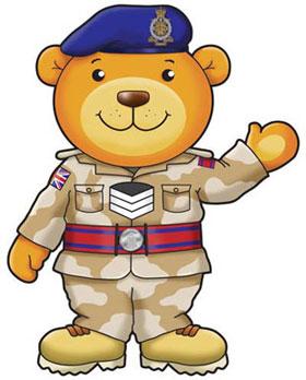 Army Bear Mascot