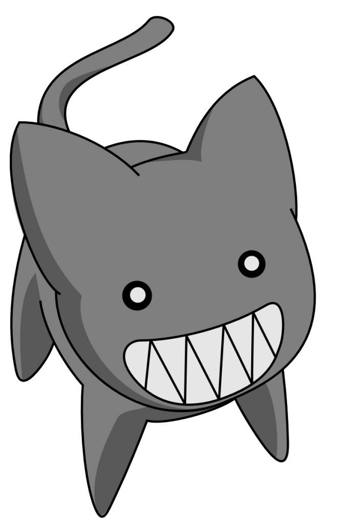 Black Cat Mascot