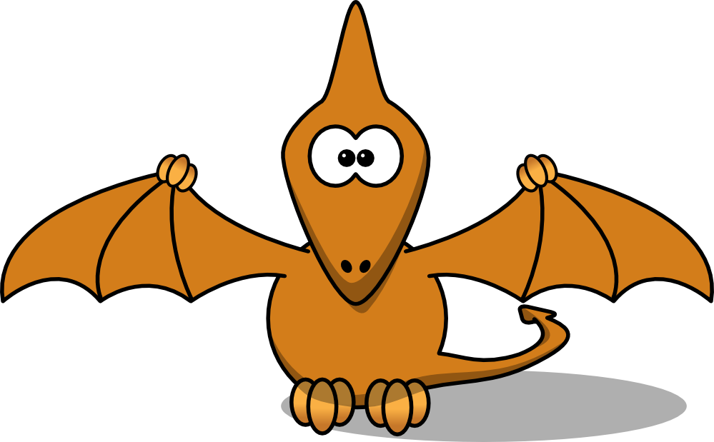 Flying Dinosaur Mascot