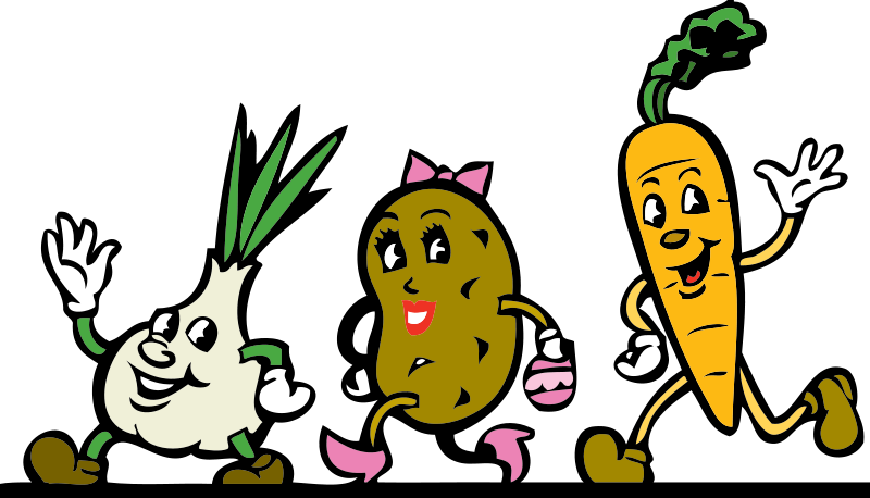 Vegetable Friends Mascot