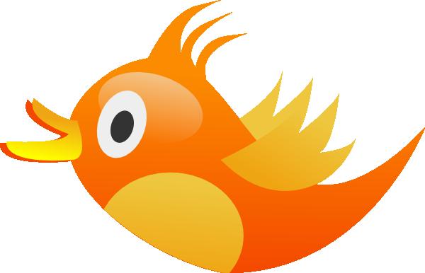 Orange Bird Mascot