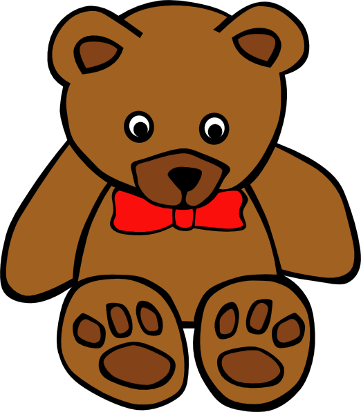 Brown Teddy Bear Mascot
