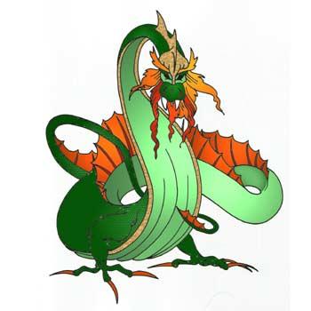 Ancient Dragon Mascot