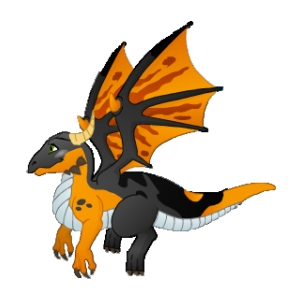 Mythical Dragon Mascot