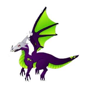 Ancient Flying Dragon Mascot