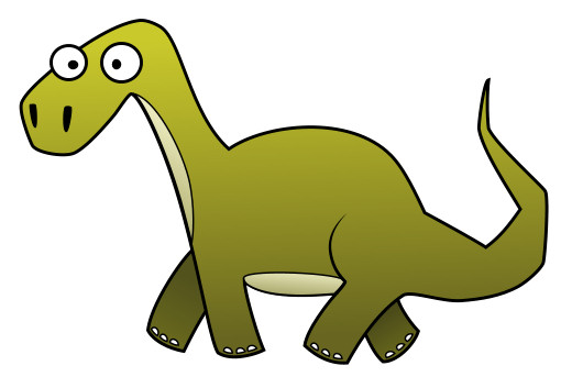 Long Neck Dinosaur Mascot