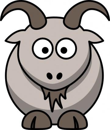 Cute Goat Mascot
