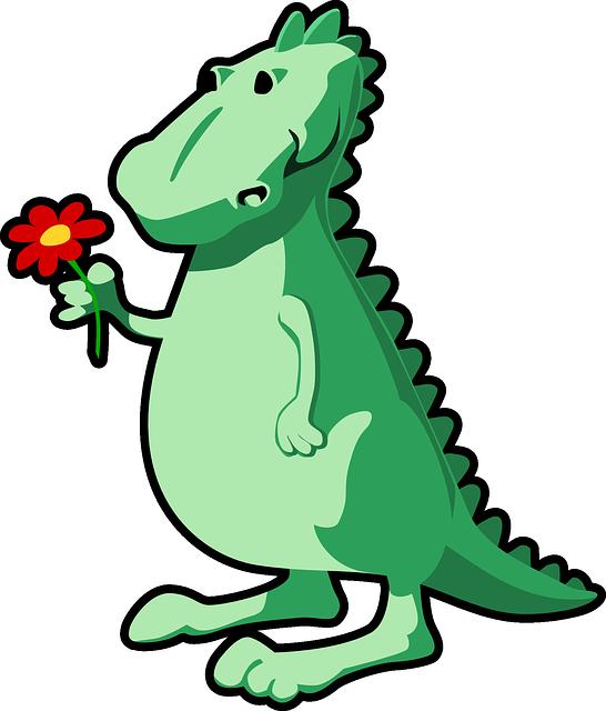 Sweet Dinosaur Mascot