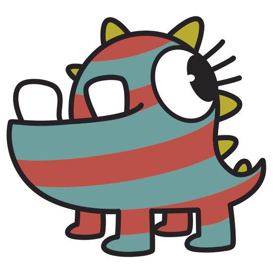 Gallery For gt Cute Cartoon Baby Monsters