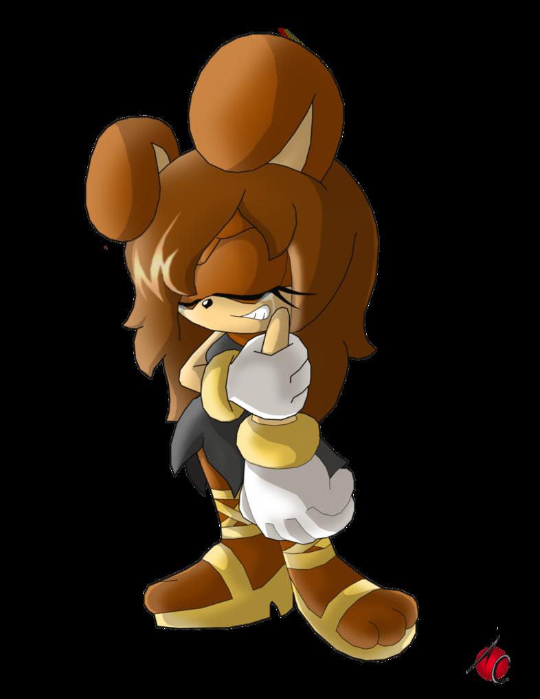 Angel Sonic Mascot