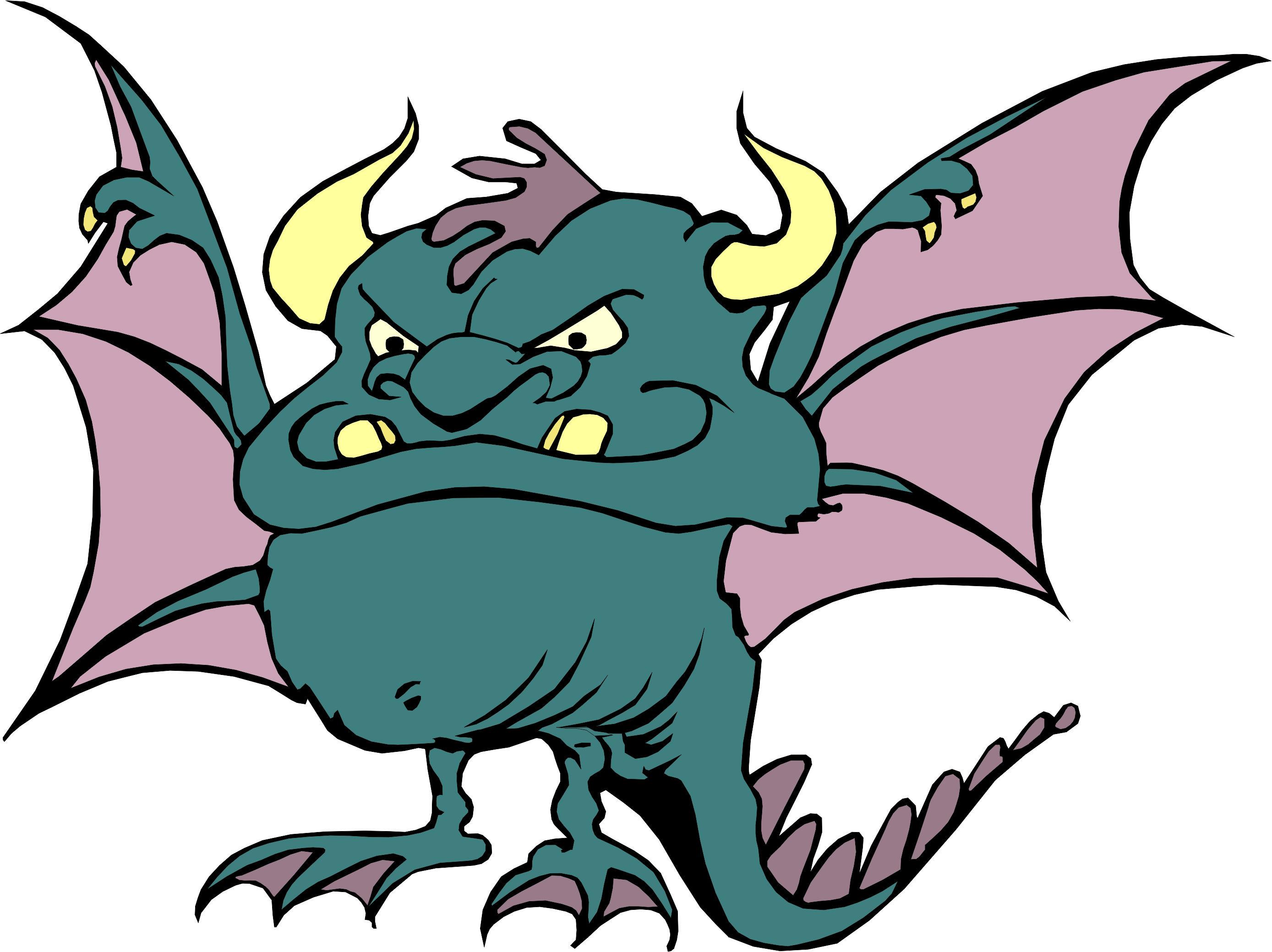 Weird Bat Mascot