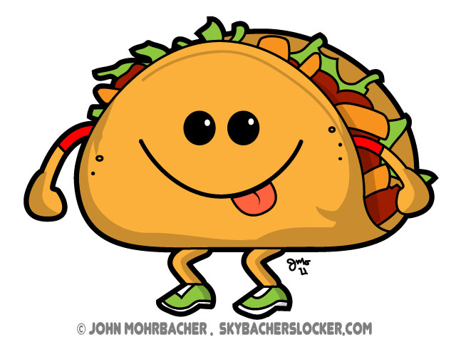 cute cartoon tacos wwwimgkidcom the image kid has it