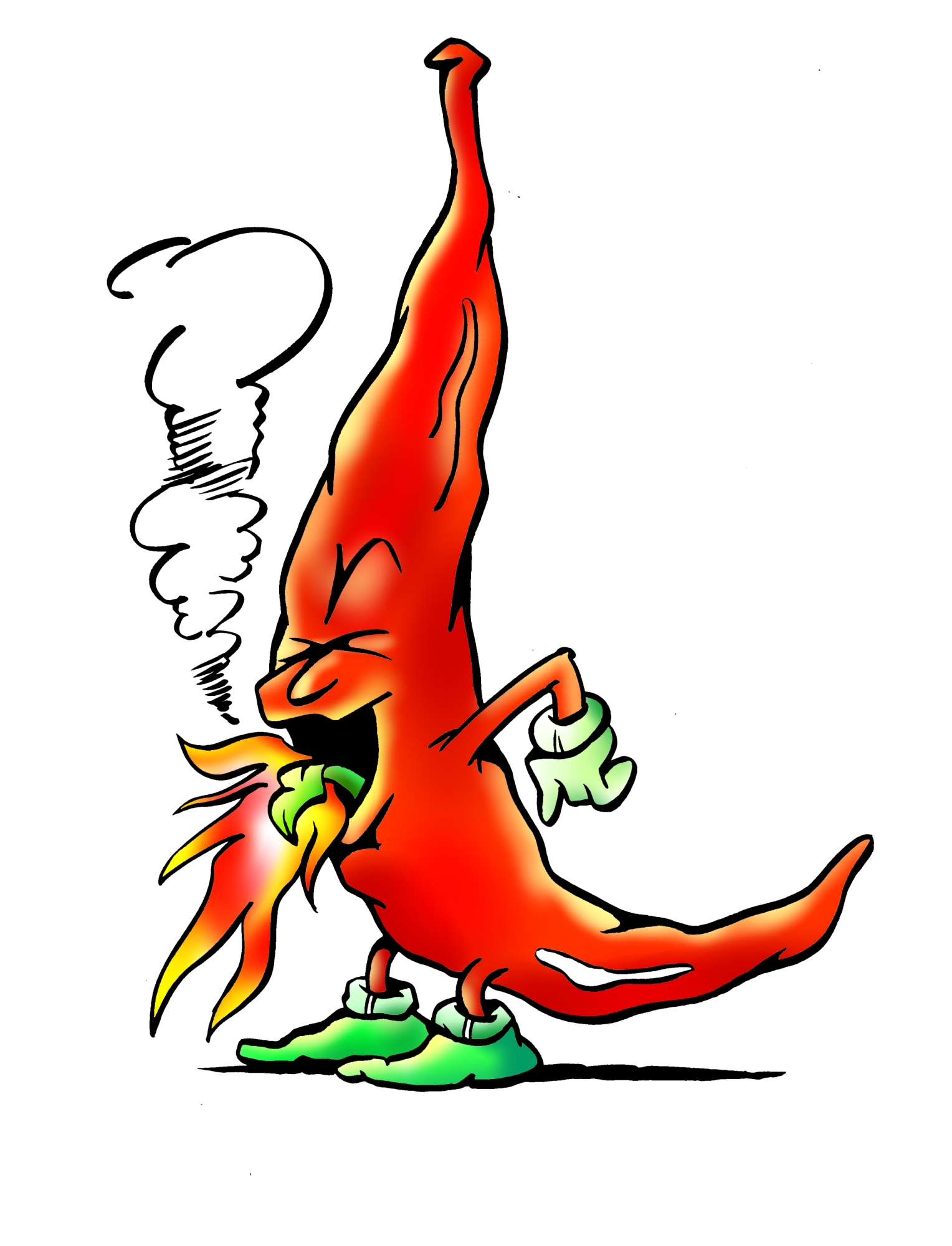 Red Hot Chilli Pepper Mascot