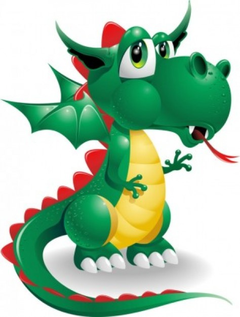 Little Green Dragon Mascot