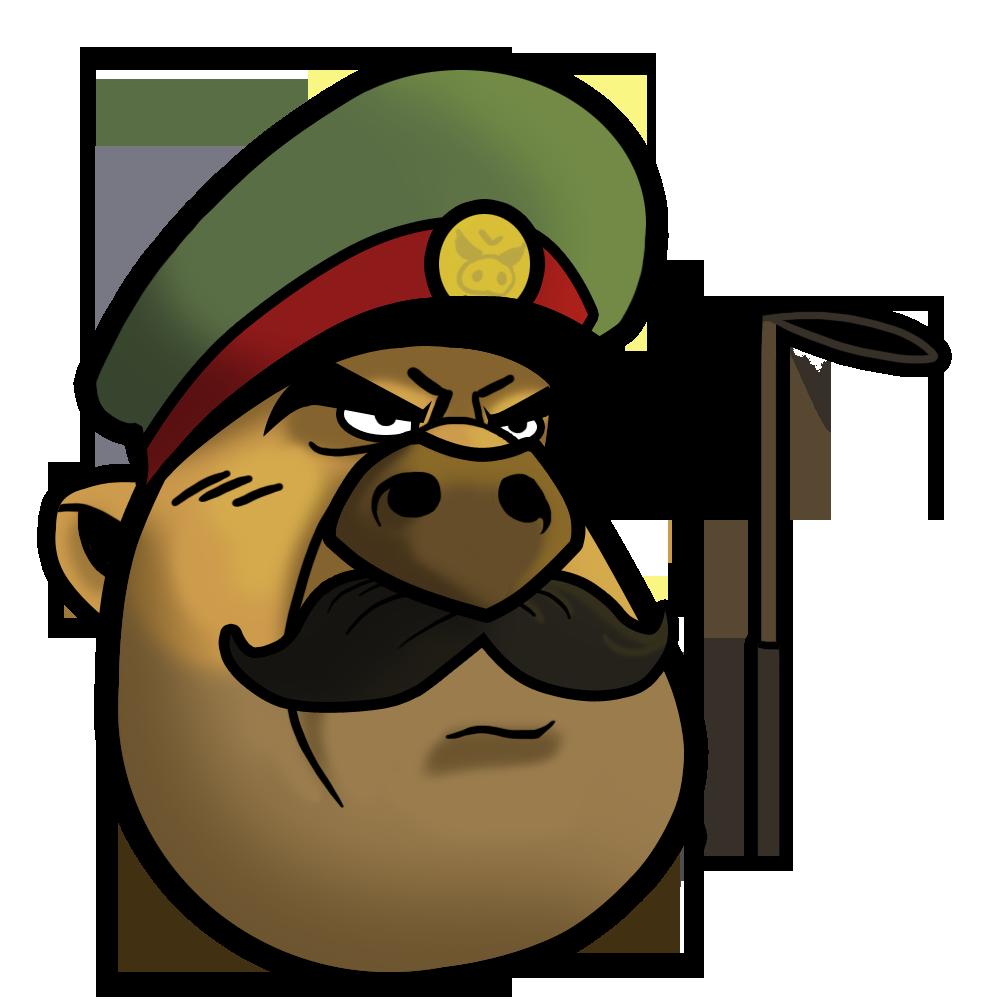 General Bird Mascot