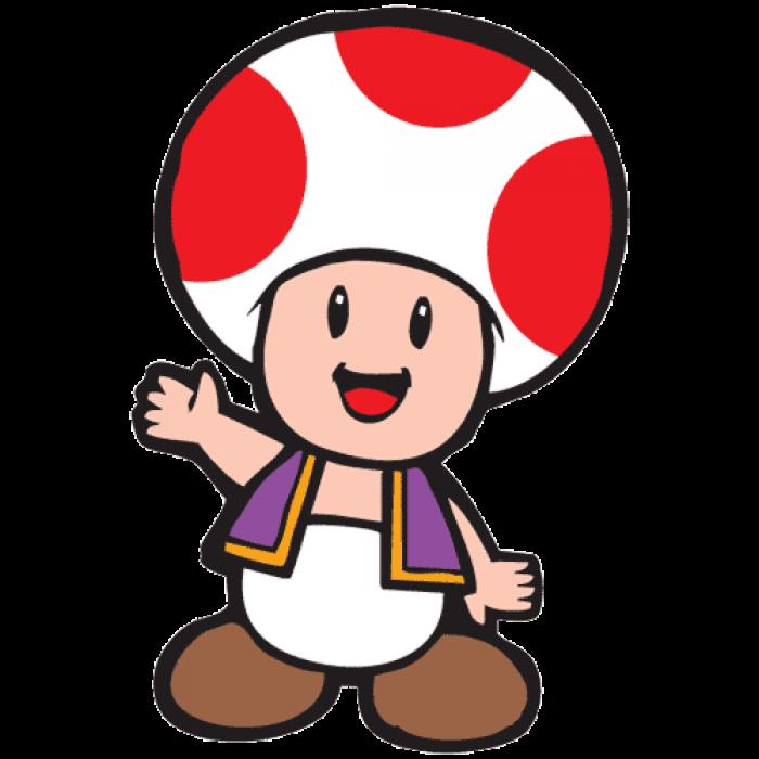 Toadstool Mascot
