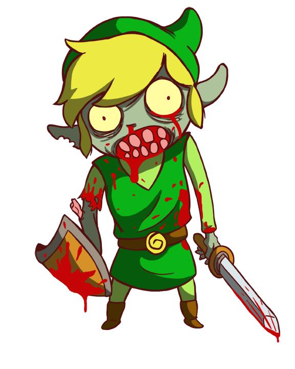 Zombie Link Mascot