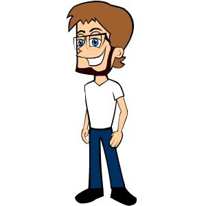 Regular Guy Mascot