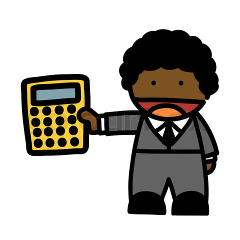 Math Genius Mascot