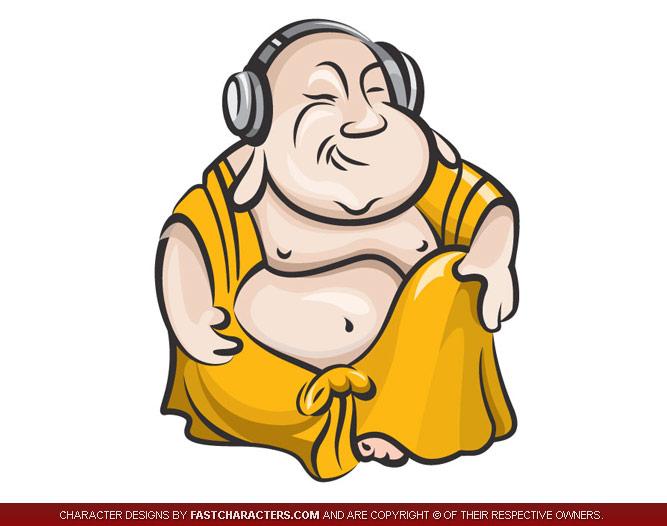 Buddha Mascot