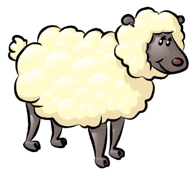 Farm Sheep Mascot