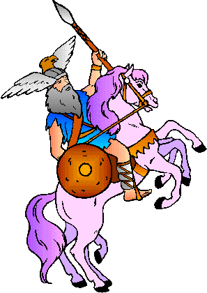 Norse Man Mascot