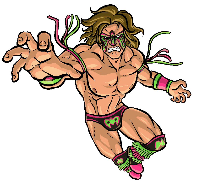 Wrestling Warrior Mascot
