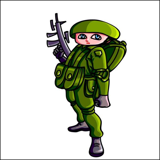 Infantry Mascot