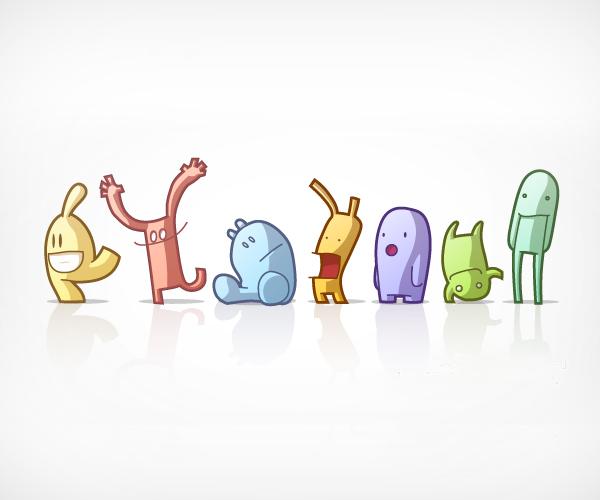 Cute Odd Mascots